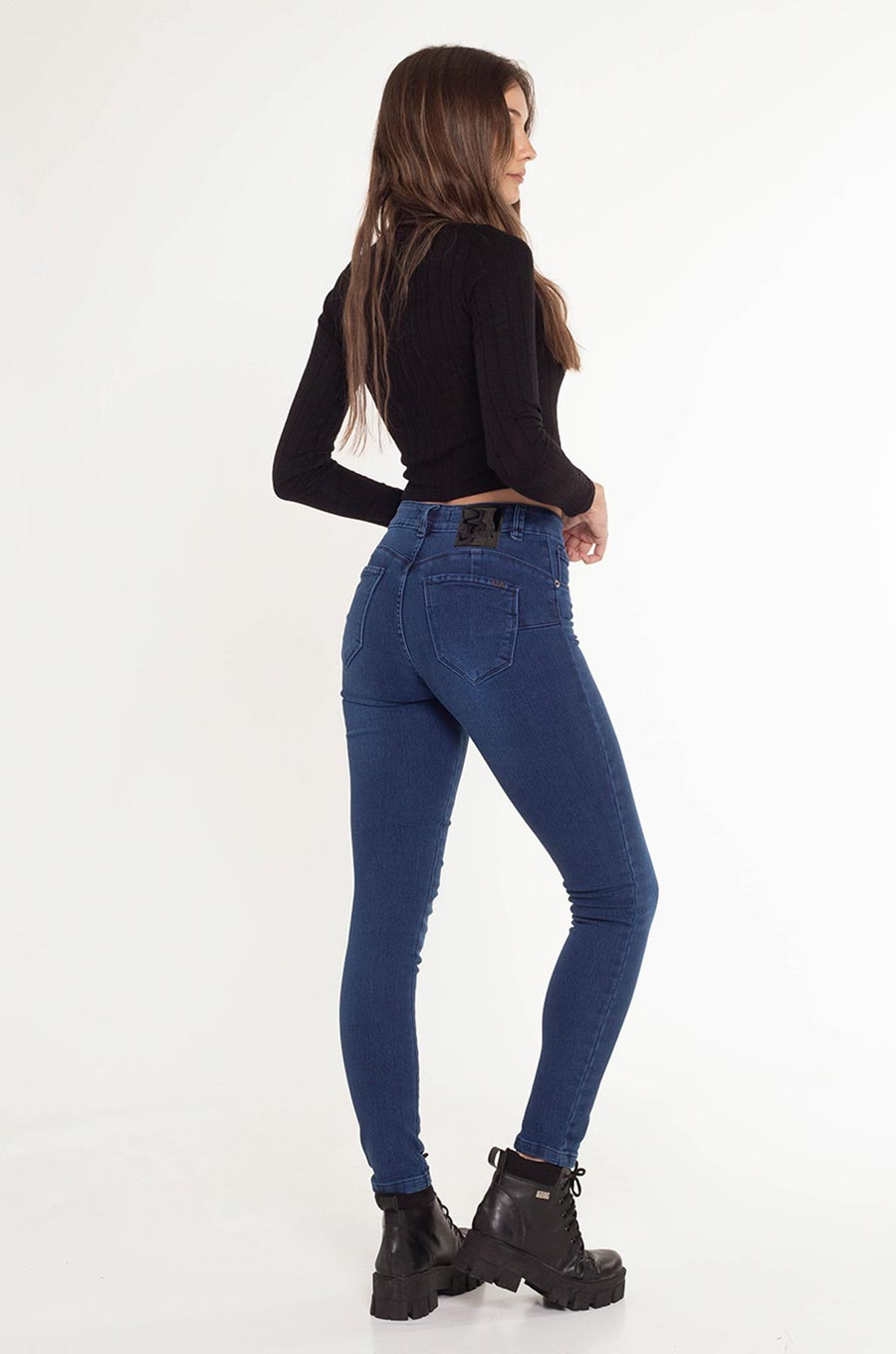 Jean Push Up Satisfied