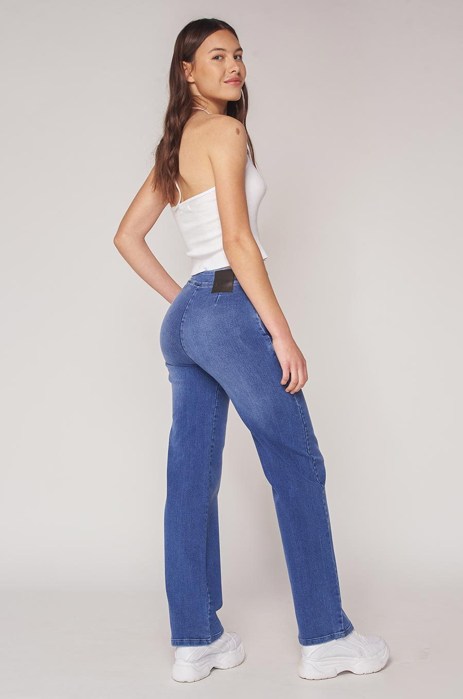 Jean Flare Greeicy